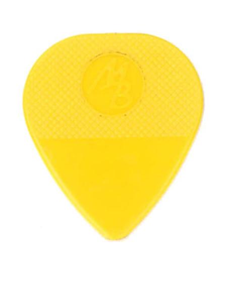 Mel Bay Vintage Textured Guitar Picks - Medium (Yellow), 12/pkg