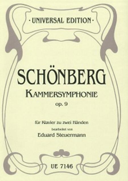 Chamber Symphony, Op. 9