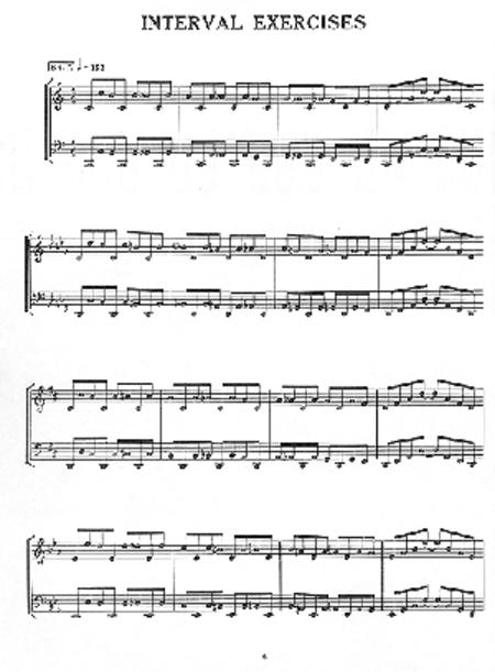Jazz Studies for Piano
