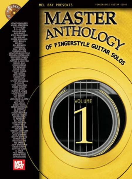 Master Anthology Of Fingerstyle Guitar Solos Vol. 1