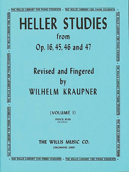 Studies Opus 16, 45, 46 and 47, Volume 1