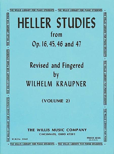 Studies Opus 16, 45, 46 and 47, Volume 2
