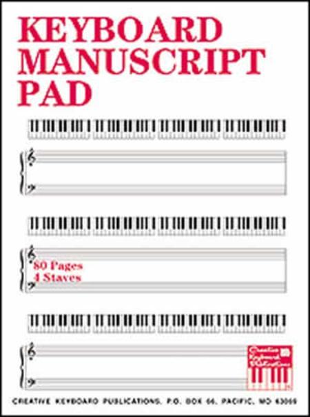 Keyboard Manuscript Pad