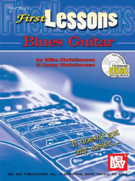 First Lessons Blues Guitar