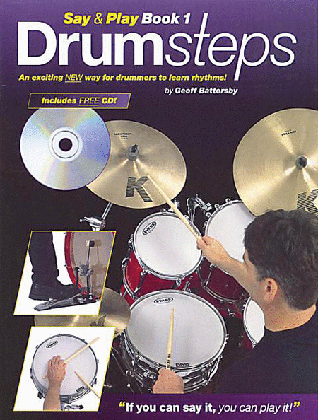 Drumsteps Say and Play Book 1