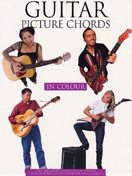 Guitar Picture Chords in Color
