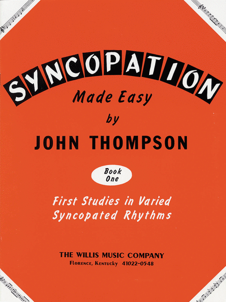 Syncopation Made Easy - Book 1