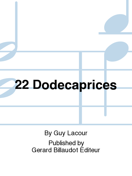 22 Dodecaprices