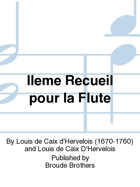IIeme Recueil pour la Flute