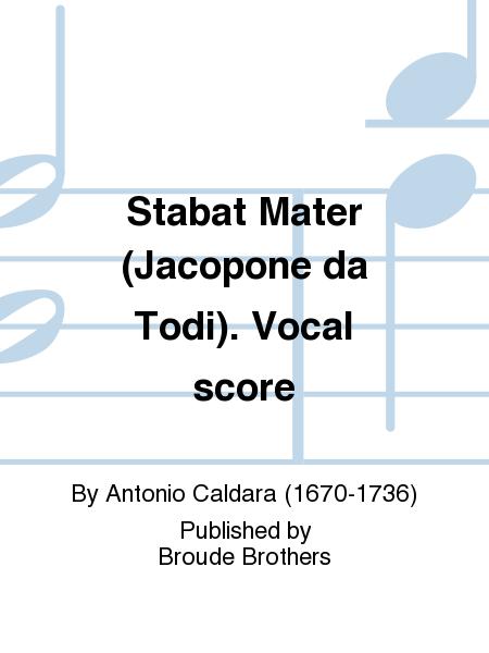 Stabat Mater (Jacopone da Todi). Vocal score