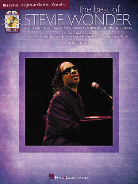 The Best Of Stevie Wonder - Keyboard Signature Licks