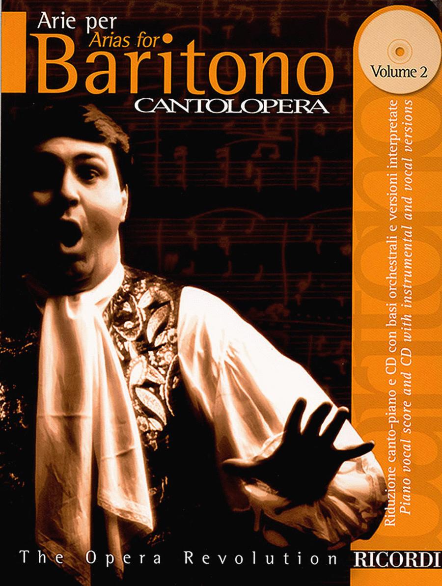 Cantolopera: Arias for Baritone - Volume 2