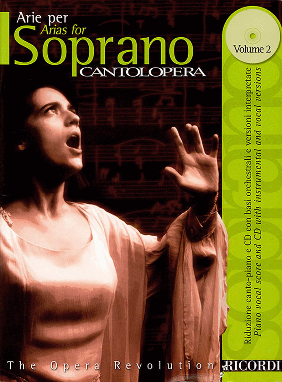 Cantolopera: Arias for Soprano - Volume 2