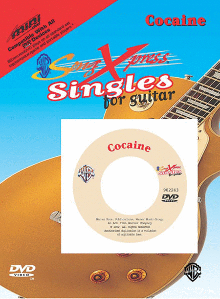 SongXpress Singles - Cocaine - DVD