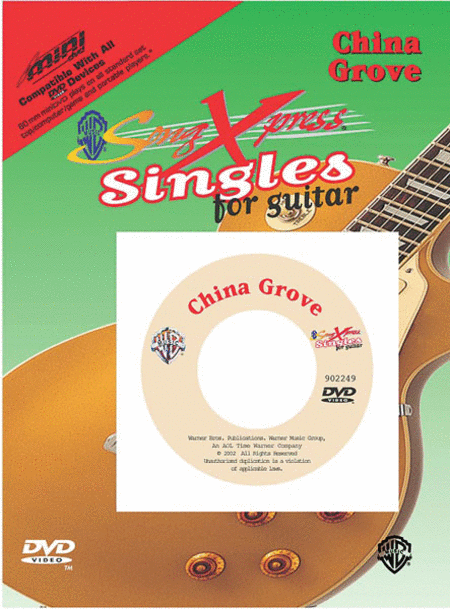 SongXpress Singles - China Grove - DVD