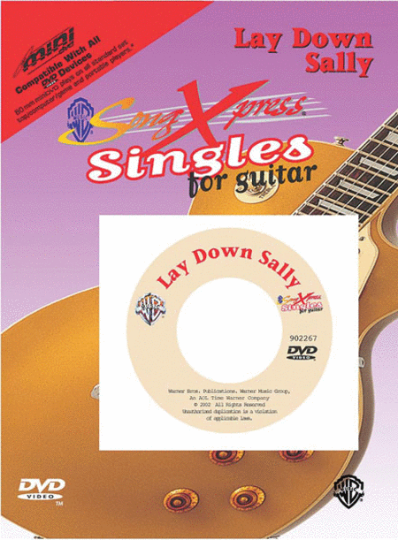 SongXpress Singles - Lay Down Sally - DVD