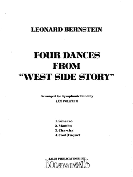 Four Dances from West Side Story