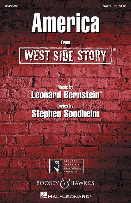 america west side story sheet music pdf