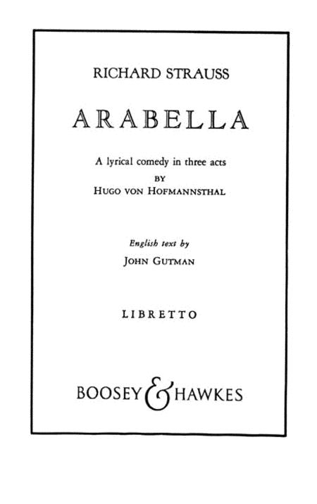 Arabella, Op. 79