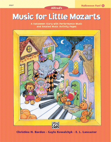 Music for Little Mozarts Halloween Fun, Book 1