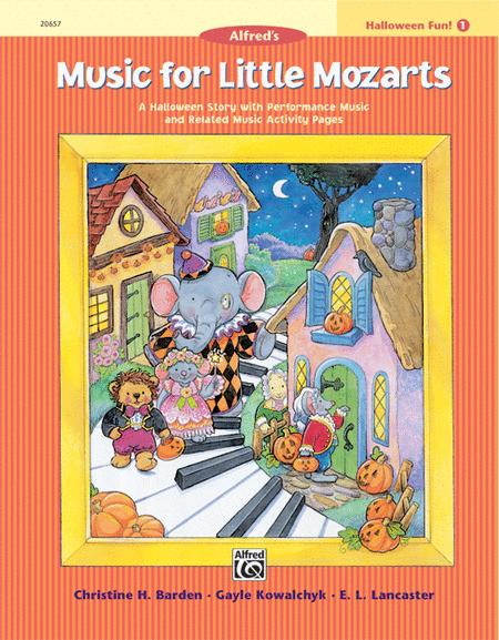 Music for Little Mozarts Halloween Fun, Book 1