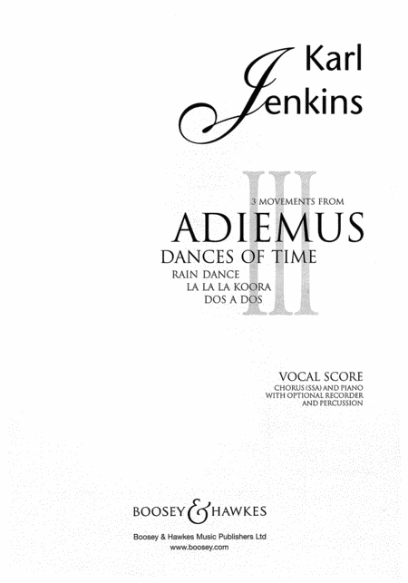 3 Movements from Adiemus III