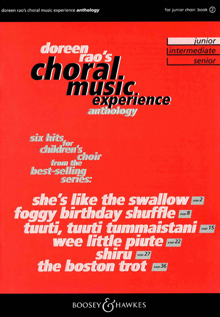 Choral Music Experience Anthology
