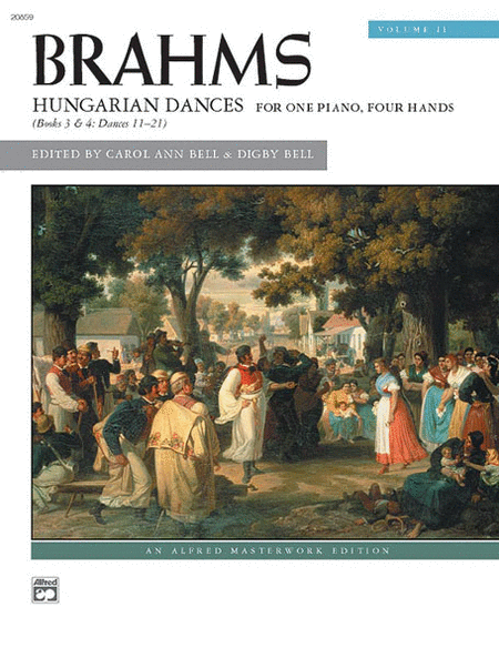Brahms -- Hungarian Dances, Volume 2