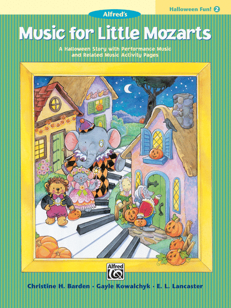 Music for Little Mozarts Halloween Fun, Book 2