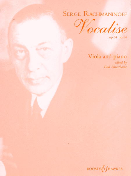 Vocalise Op. 34, No. 14