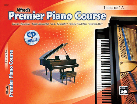 Alfred's Premier Piano Course: Lesson Book & CD Level 1A