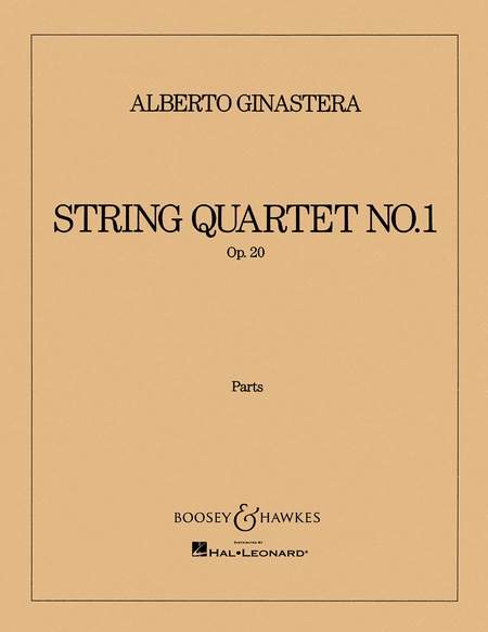 String Quartet No. 1, Op. 20