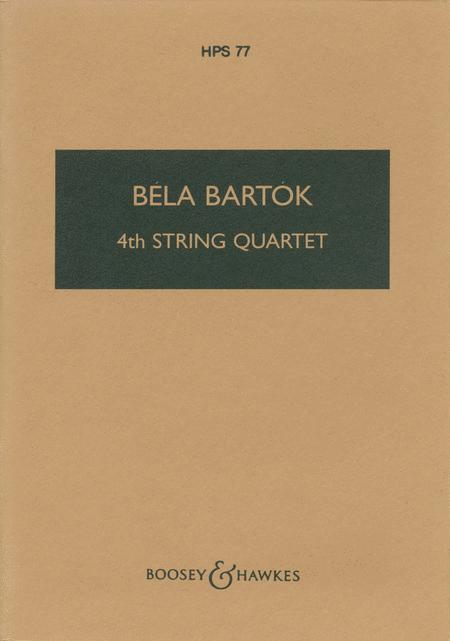 Fourth String Quartet (1928)