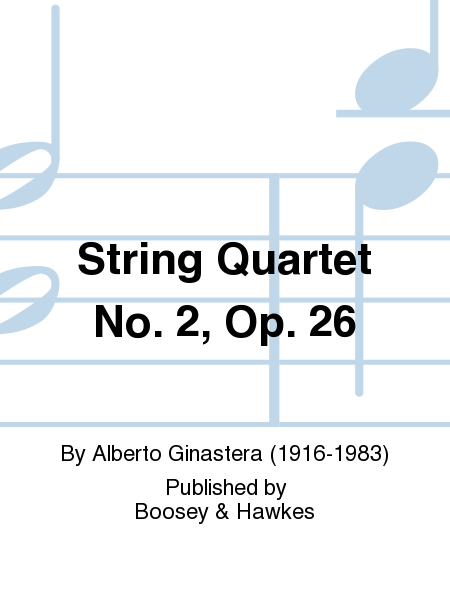 String Quartet No. 2, Op. 26