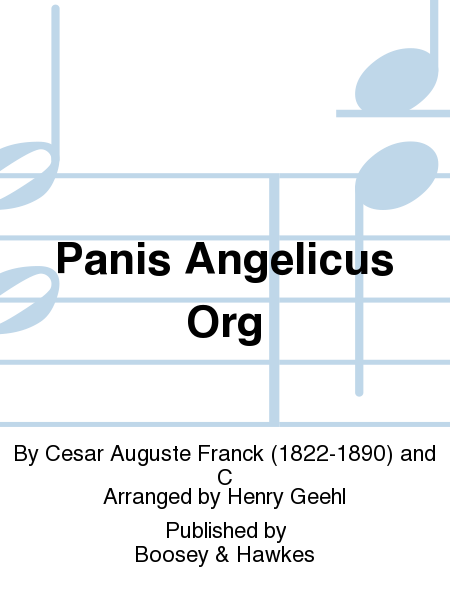 Panis Angelicus  Org