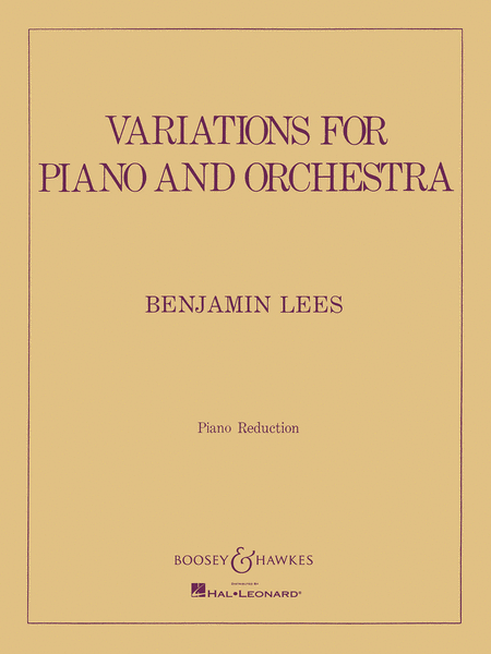 Variations for Piano and Orchestra