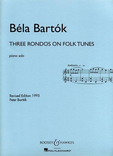 Three Rondos on Folk Tunes