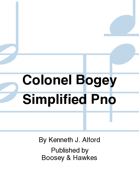 Colonel Bogey Simplified Pno