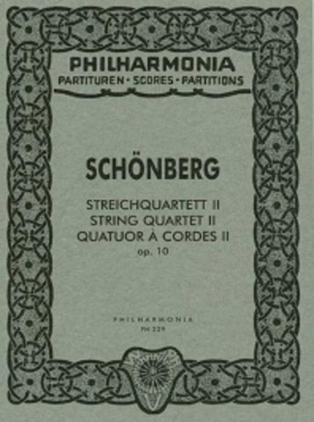 Second String Quartet, Op. 10