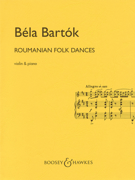 Roumanian Folk Dances (Violin and Piano)