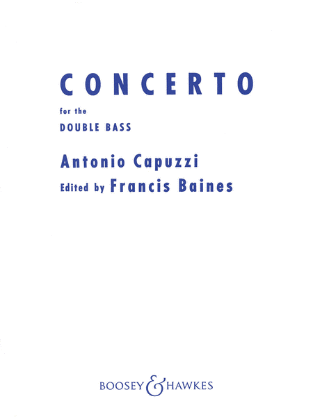 Double Bass Concerto in F