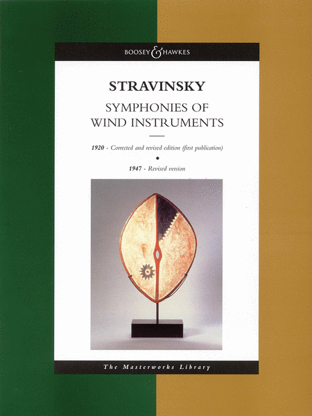 Stravinsky - Symphonies of Wind Instruments