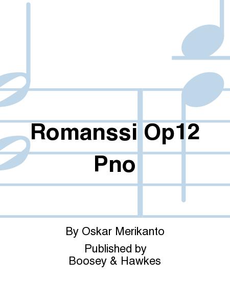 Romanssi Op12  Pno