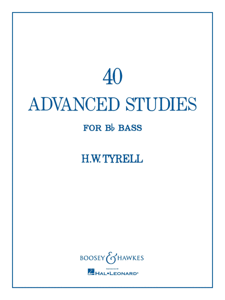 40 Advanced Studies for Bb Bass/Tuba (B.C.)
