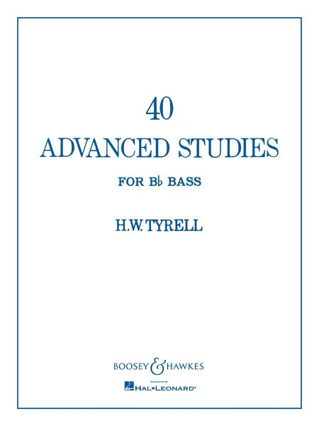 40 Advanced Studies for Bb Bass/Tuba (B.C.)