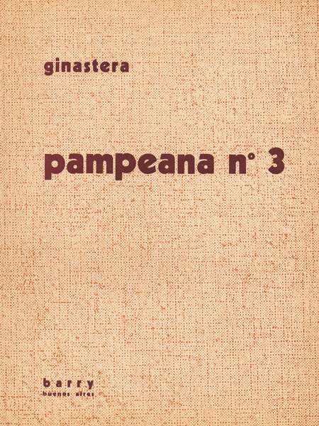 Pampeana No. 3, Op. 24