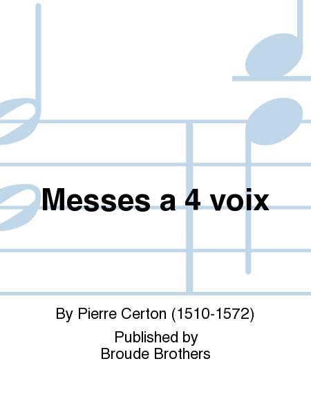 Messes a 4 voix