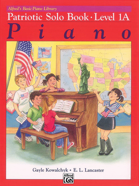 Alfred's Basic Piano Course - Patriotic Book (Level 1A)