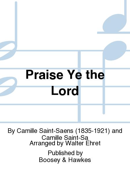 Praise Ye the Lord
