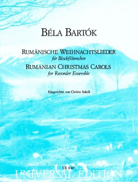 Roumanian Christmas Carols